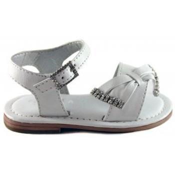 Shoes Children Sandals Oca Loca OCA LOCA VALENCIA SANDAL WHITE