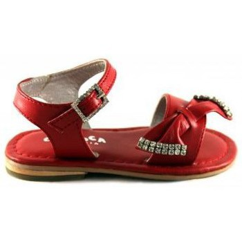 Shoes Children Sandals Oca Loca OCA LOCA VALENCIA SANDAL RED