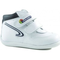 Shoes Boy Hi top trainers Pablosky TORELLO WHITE