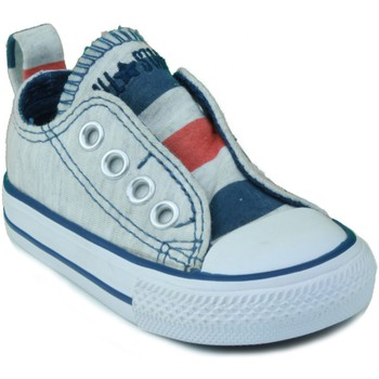 Shoes Children Low top trainers Converse AS SLIP OX BLUE