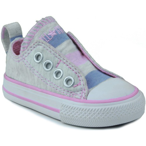 Shoes Children Low top trainers Converse AS SLIP OX PINK