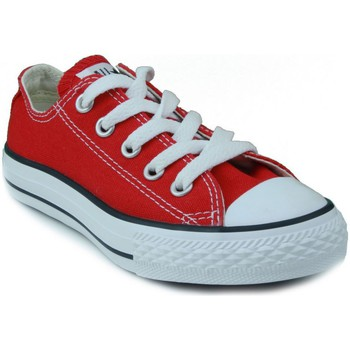 Shoes Children Low top trainers Converse AS CORE OX RED