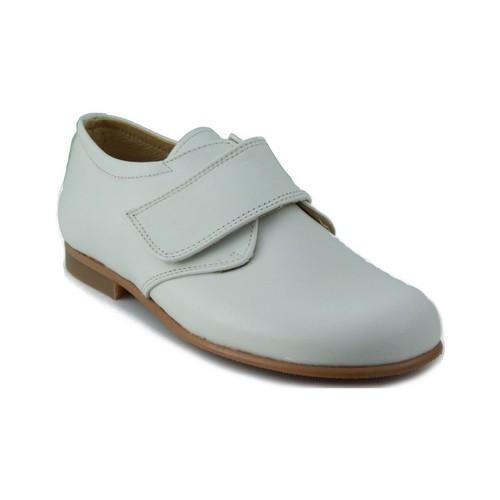 Shoes Children Derby Shoes Rizitos RZTS BLUCHER NAPA POINT BEIGE