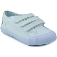 Shoes Children Low top trainers Le Coq Sportif SAINT MALO PS STRAP WHITE