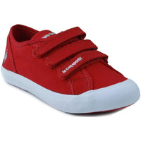Shoes Children Low top trainers Le Coq Sportif SAINT MALO PS STRAP RED