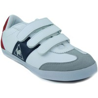 Shoes Children Low top trainers Le Coq Sportif MEXICO PS STRAP WHITE
