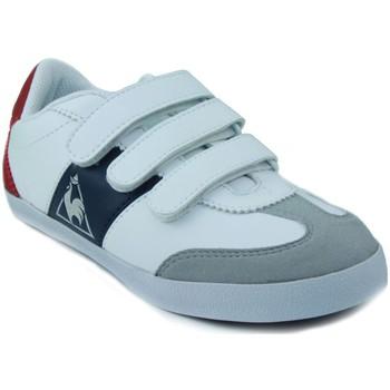 Shoes Children Low top trainers Le Coq Sportif MEXICO PS STRAP WHITE