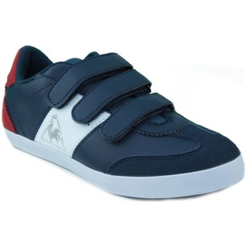 Shoes Children Low top trainers Le Coq Sportif MEXICO PS STRAP MARINE