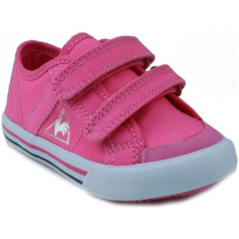 Shoes Children Low top trainers Le Coq Sportif  DEAUVILLE PINK