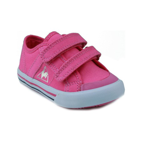 Shoes Children Low top trainers Le Coq Sportif  DEAUVILLE PINK