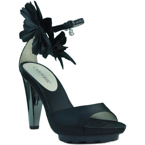 Shoes Women Sandals Café Noir Cafe Noir heel sandals dress. BLACK