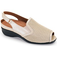Shoes Women Sandals Calzamedi sandal elastic blade BEIGE