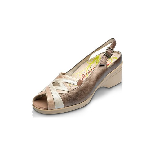 Shoes Women Sandals Drucker Calzapedic operates orthopedic shoe BRONZE