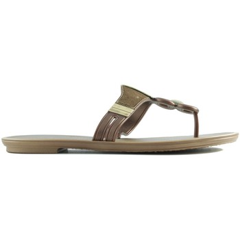 Shoes Women Sandals Ipanema RAIDERS GRENDHA GOLDEN ORO