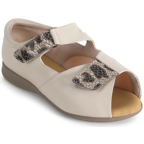 Shoes Women Sandals Calzamedi comfortable orthopedic woman BEIGE