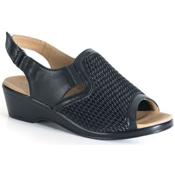 Shoes Women Sandals Calzamedi comfortable sandal elastic blade BLACK