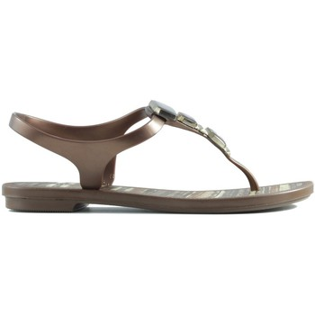Shoes Children Sandals Ipanema RAIDER GRENDHA JEWEL BROWN