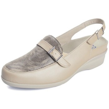 Shoes Women Sandals Dtorres D TORRES l sandals closed for templates BEIGE