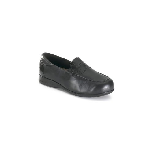 Shoes Women Loafers Calzamedi comfortable extra wide BLACK