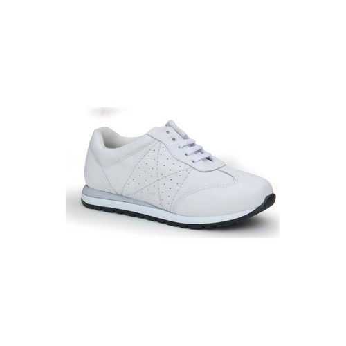 Shoes Women Low top trainers Calzamedi comfortable sports woman WHITE