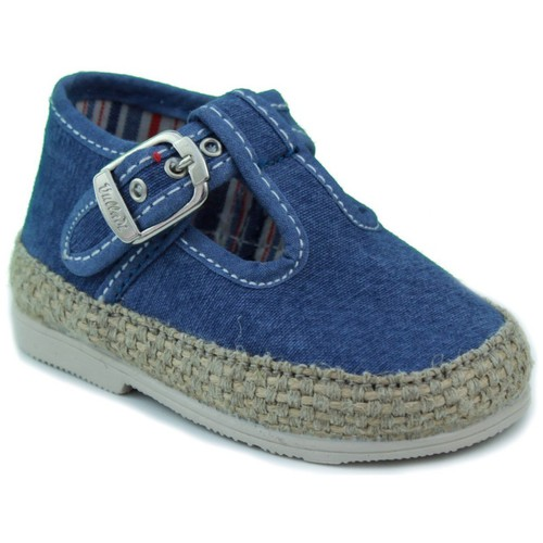 Shoes Children Baby slippers Vulladi CANVAS BLUE