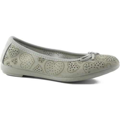 Shoes Girl Flat shoes Vulladi split letinas BEIGE