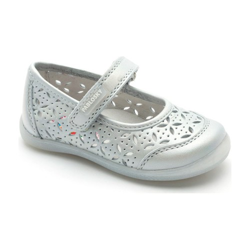 Shoes Girl Flat shoes Pablosky dancer with velcro GREY