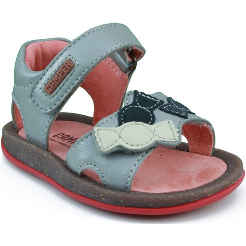 Shoes Girl Sandals Camper SONATINA HAPPINESS GREY