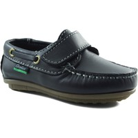 Shoes Boy Boat shoes Gorila Moccasin child with velcro MARINE
