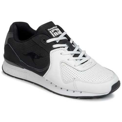 Shoes Men Low top trainers Kangaroos COIL-R2 TONE White / Black