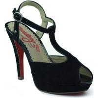 Sandals MTNG MUSTANG nubuck heel shoe