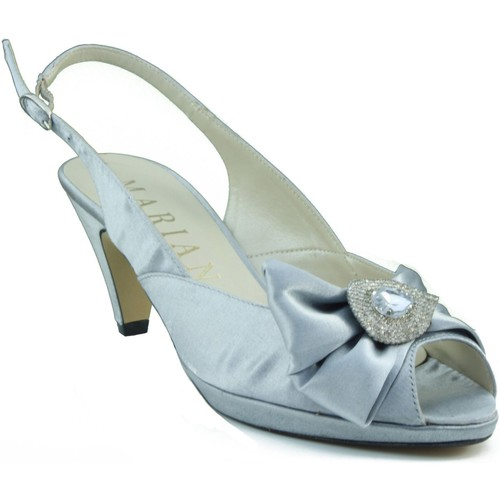 Shoes Women Sandals Marian medium heel shoe party GREY