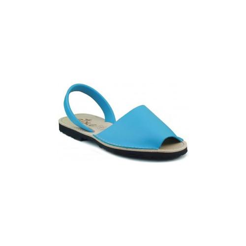 Shoes Mules Arantxa Menorca skin LIGHT BLUE