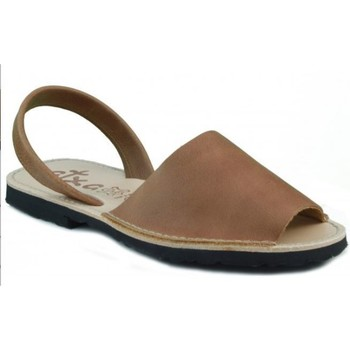 Shoes Mules Arantxa Menorca skin BROWN