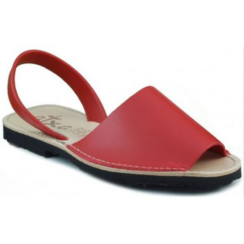 Shoes Mules Arantxa Menorca skin RED