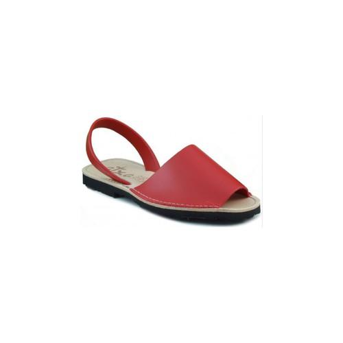 Shoes Mules Arantxa Menorca skin RED
