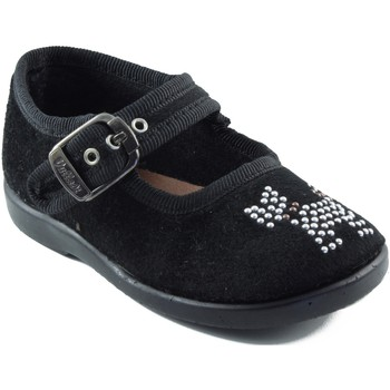 Shoes Girl Flat shoes Vulladi Dancers  dog girl BLACK