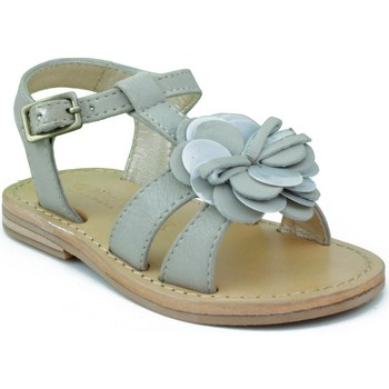 Shoes Girl Sandals Oca Loca OCA LOCA VALENCIA AD FLOR GREY
