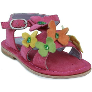 Shoes Girl Sandals Oca Loca OCA LOCA nubuck sandal girl FUXIA