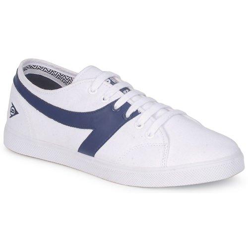 Shoes Men Low top trainers Dunlop 1987 CHEVRON White / Navy