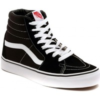 Shoes Hi top trainers Vans SK8 HI BLACK Silver