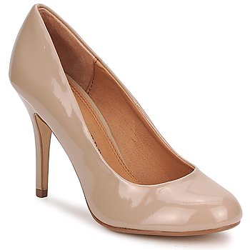 Shoes Women Heels Chinese Laundry FAST LOVE Nude / Patent