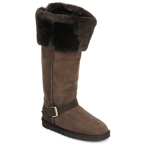 Shoes Women High boots Love From Australia FOXY TALL ZIP Chocolate