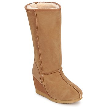 Shoes Women High boots Love From Australia WEDGE ZIP TALL CARAMEL
