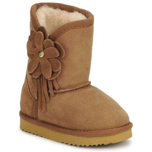 Shoes Children Ankle boots Love From Australia KIDS CUPID FLOWER Caramel