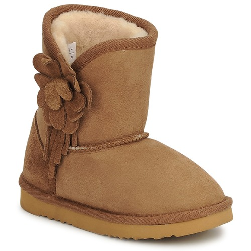 Shoes Children Mid boots Love From Australia KIDS CUPID FLOWER Caramel