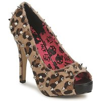 Shoes Women Heels Abbey Dawn PLATFORM PEEPTOE Leopard / Print