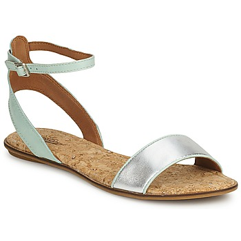 Shoes Women Sandals Lucky Brand COVELA MINT SILVER