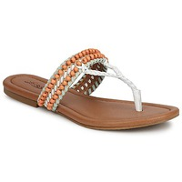 Shoes Women Sandals Lucky Brand DOLLIS Nude / White / Mint