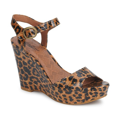 Shoes Women Sandals Lucky Brand LINDEY Luxe / Leopard